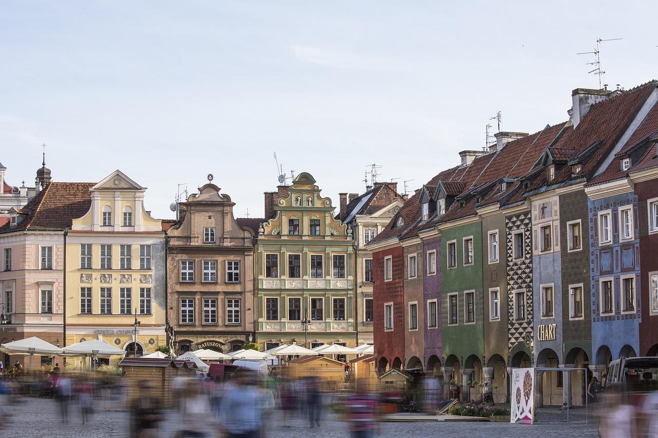 Atrakcyjna lokalizacja miasta